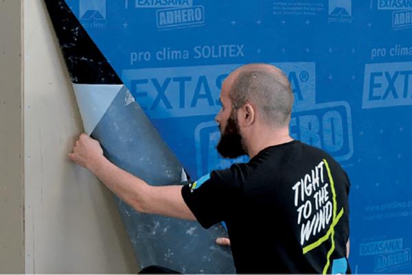 Solitex Extasana Adhero Installation