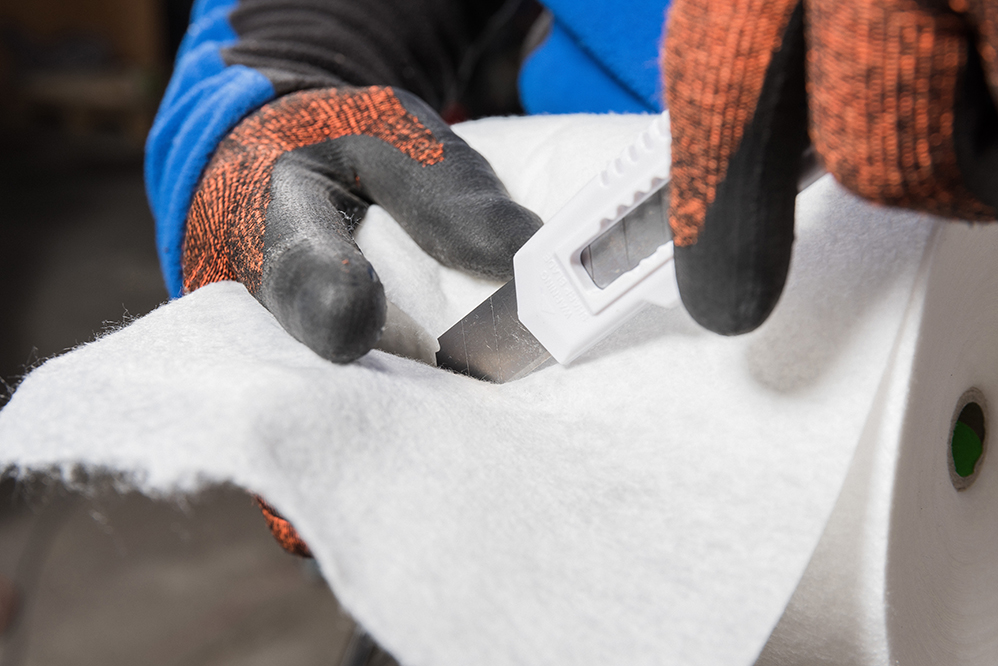 Airtightness: How to install Aerosana Fleece