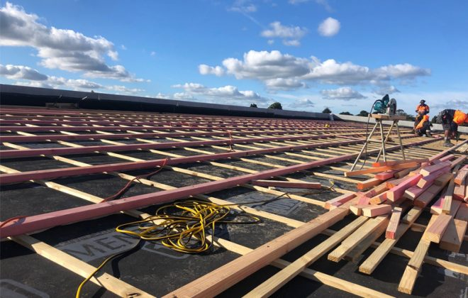 Roofing the Smart Way on a Commercial Building