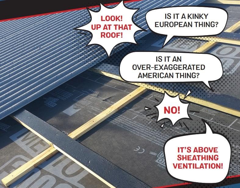 Above Sheathing Ventilation