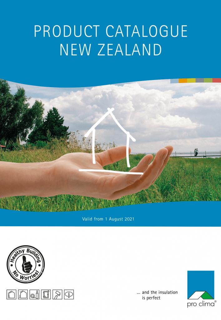 Pro Clima NZ Product Catalogue 2021